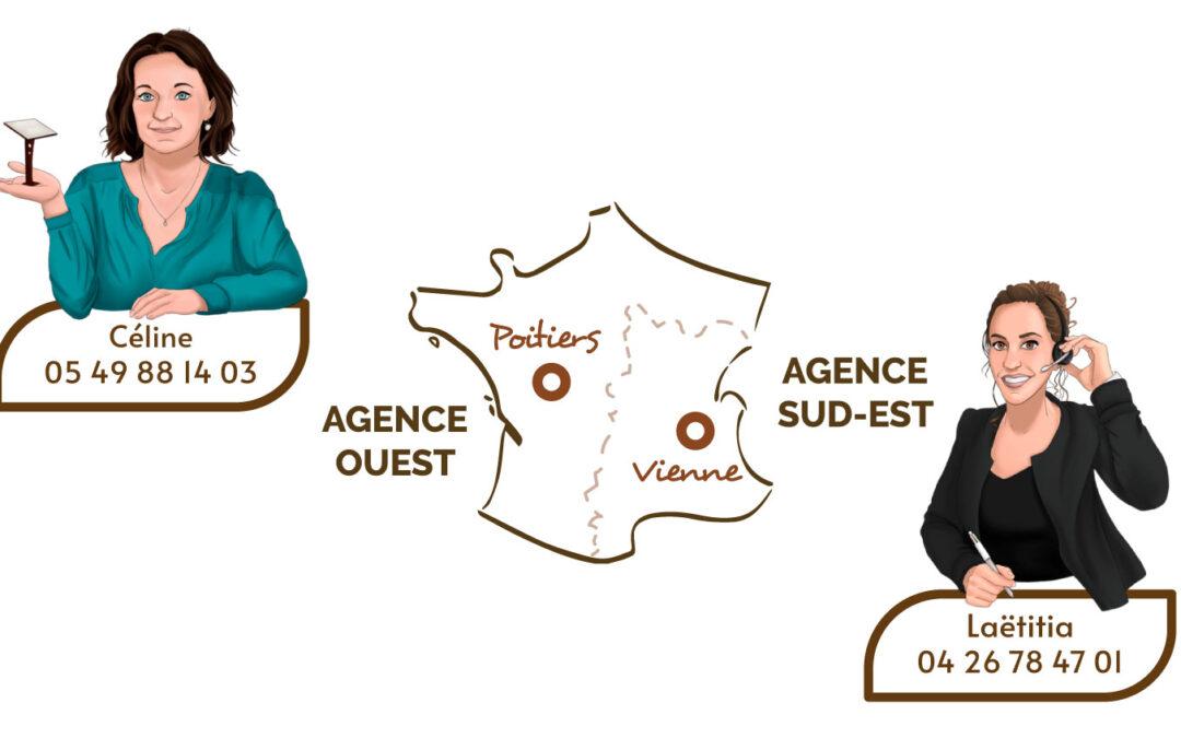 Ouverture de l'agence sud-est